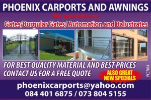 Phoenix Carports Awnings Durban Free Classifieds In South Africa