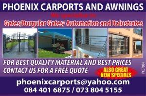 Phoenix Carports & Awnings - Durban - free classifieds in ...