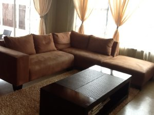 Suede corner unit couches for sale johannesburg free for Suede couches for sale