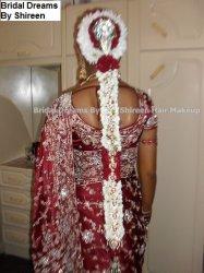 South Indian Tamil Bridal Hair Makeup Garlands Travel