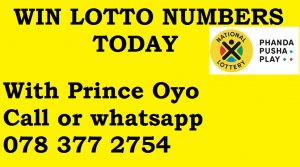 Win Lotto lucky numbers today 0783772754 - Port Elizabeth - free