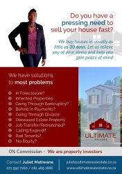 We Buy Houses For Cash South Africa